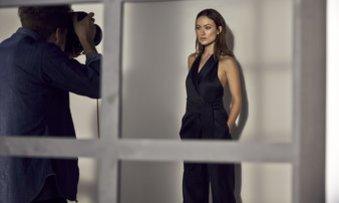 Olivia Wilde modelt für H&M