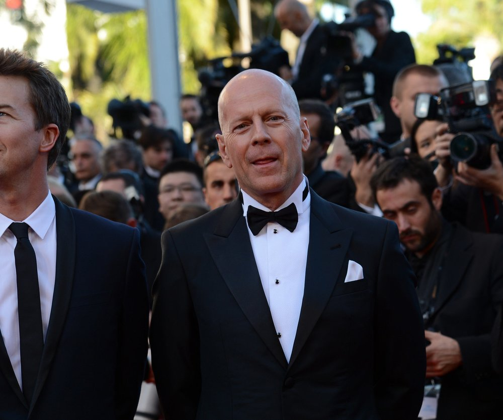"""Bruce Willis bei Dreharbeiten zu """"Stirb langsam 5"""""""