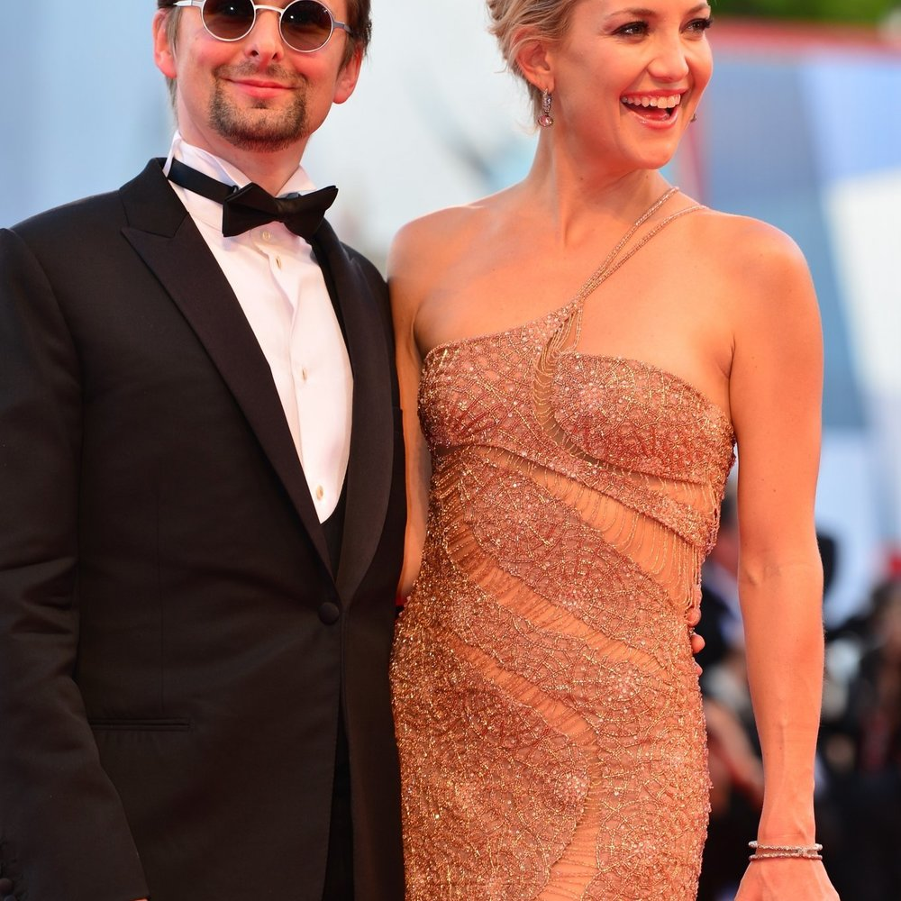 Matt Bellamy half Kate Hudson bei Geburt