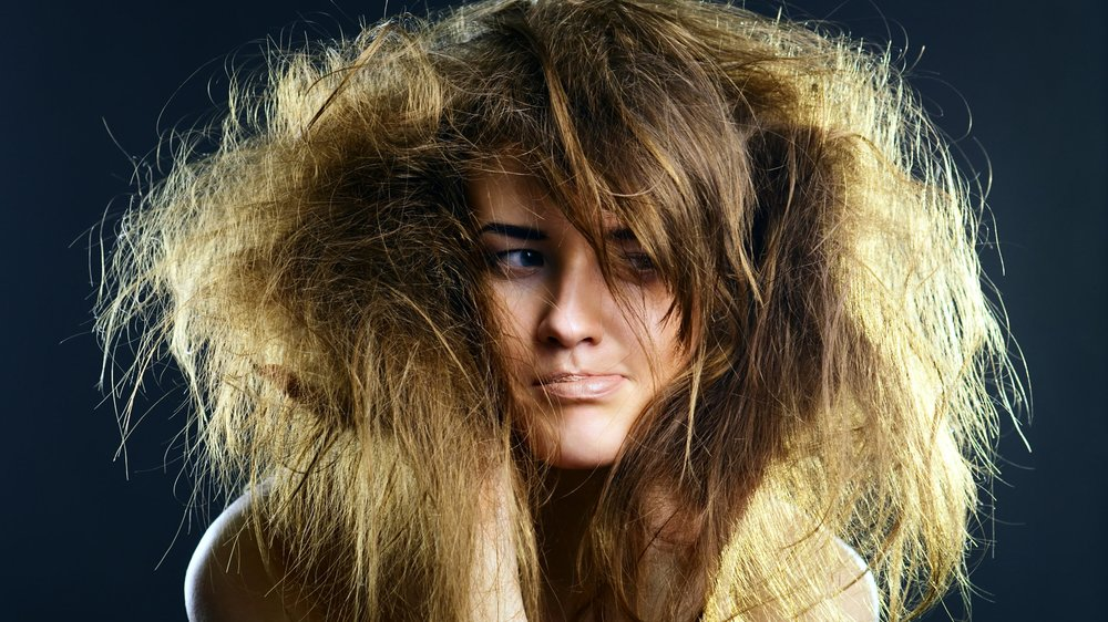 Frizz Haare