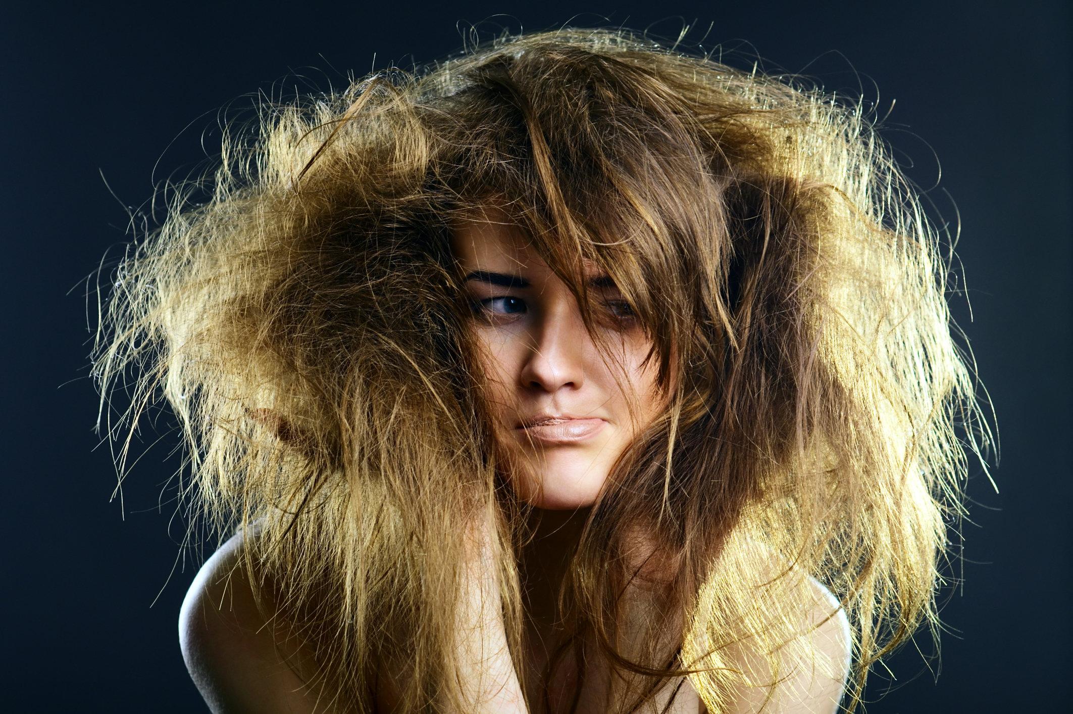 Blondierte haare verfilzen