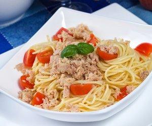 Spaghetti Thunfisch