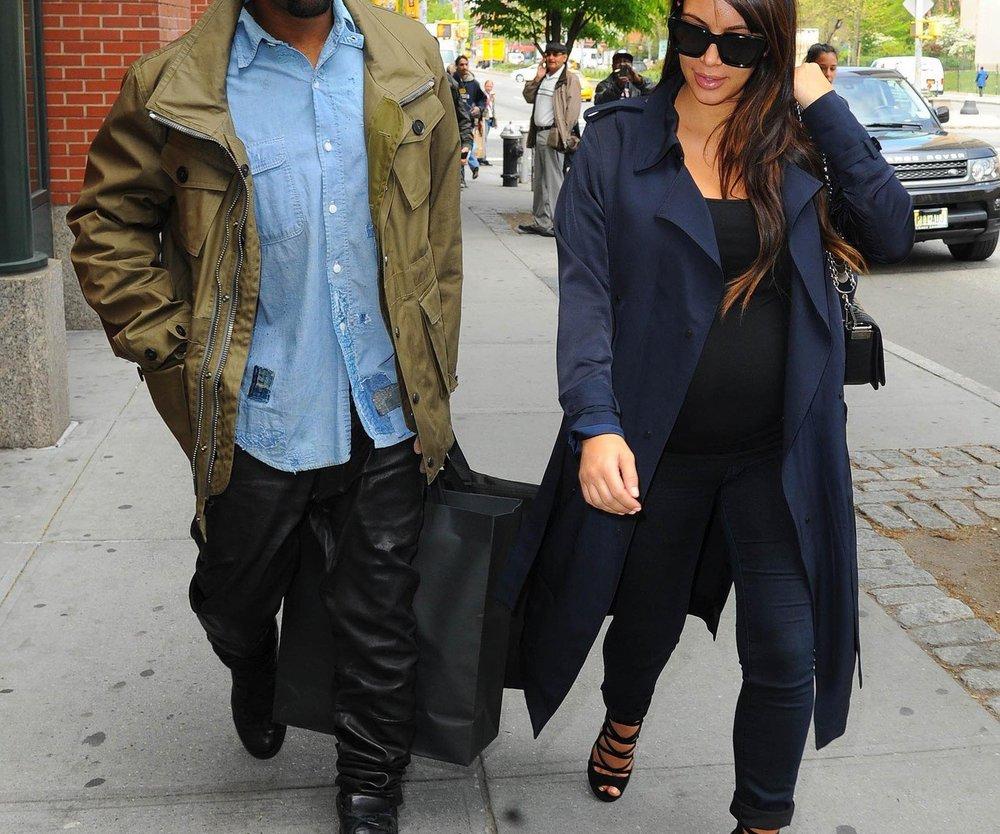 Kim Kardashian: Kaiserschnitt statt natürlicher Entbindung