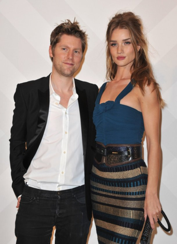 Rosie Huntington-Whiteley Rosie Huntington-Whiteley und Christopher Bailey