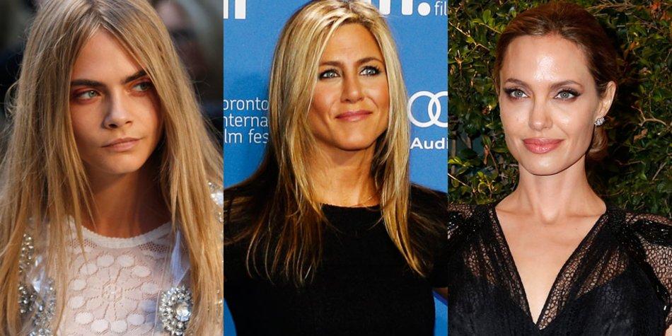 Delevingne, Aniston, Jolie