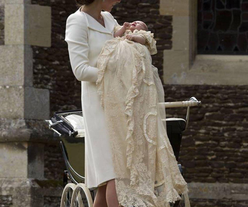 Prinzessin Charlotte wurde getauft