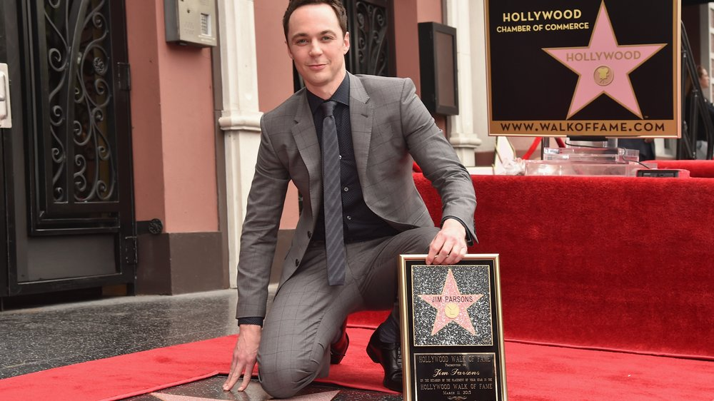 Big Bang Theory-Star Jim Parsons enthüllt seinen Stern