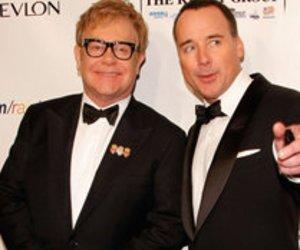 Sir Elton John und David Furnish: Weihnachtliches Babyglück