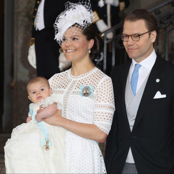 Royale Taufe in Schweden