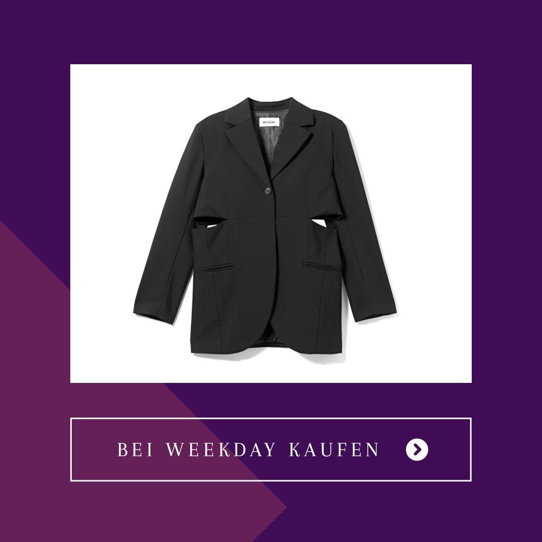Blazer Cut-outs Weekday