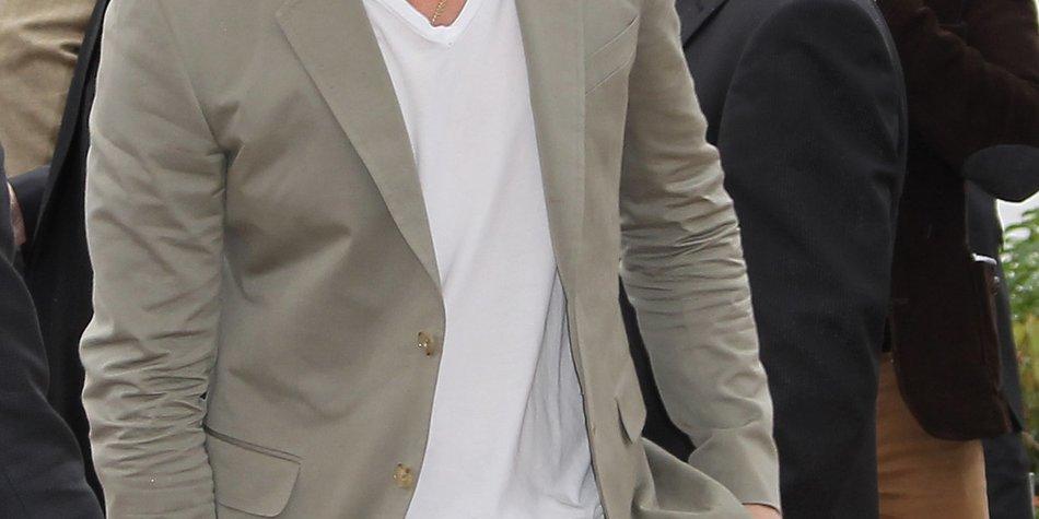 Bratt Pitt widmet sich ganz der Vater-Rolle