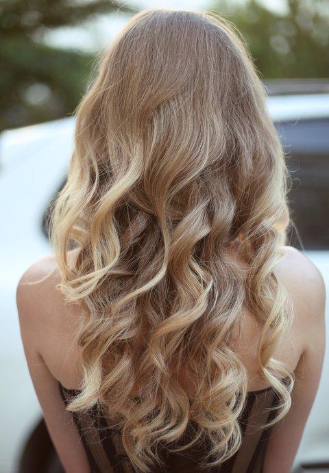 Haare frisuren machen offene selber Einfache Frisuren