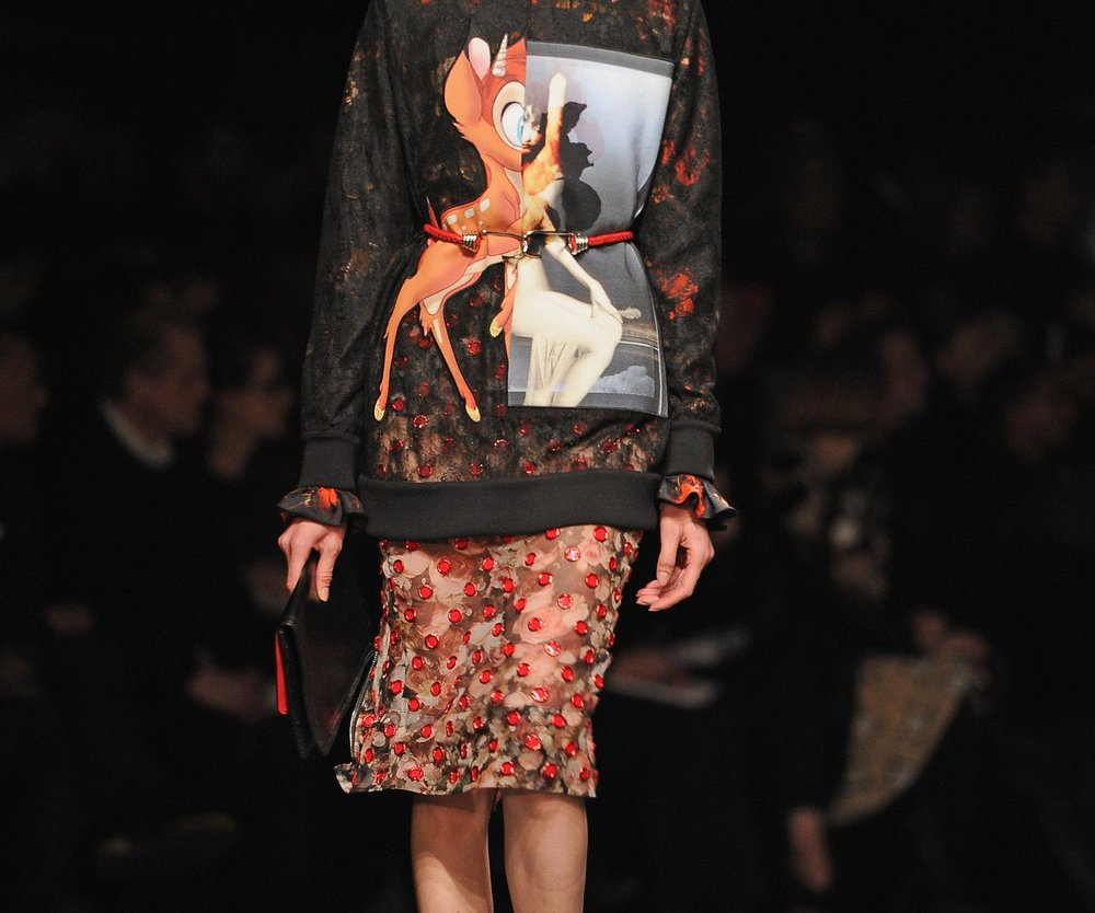 Givenchy präsentiert romantischen Gypsy-Look