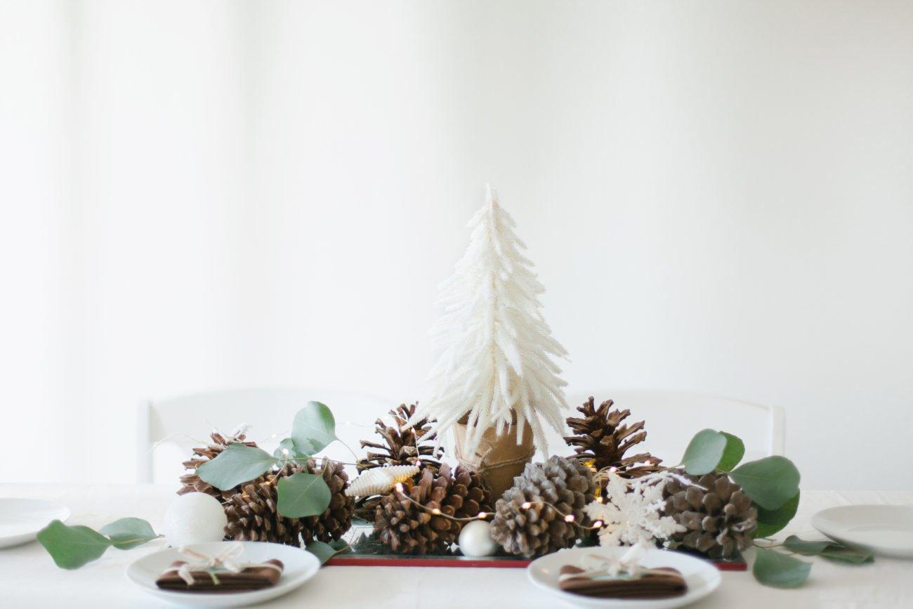 Adventsgesteck ohne Kerzen