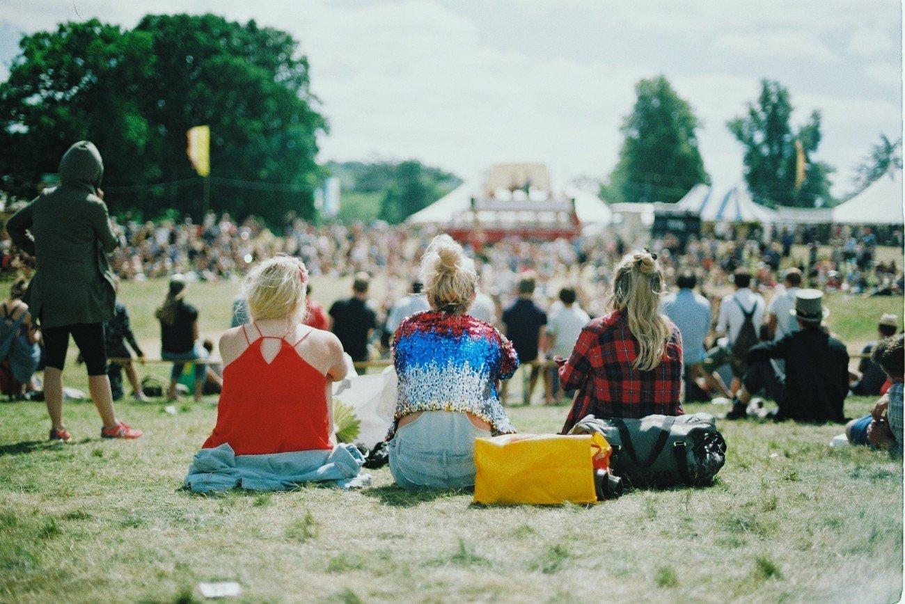 Essen auf dem Festival