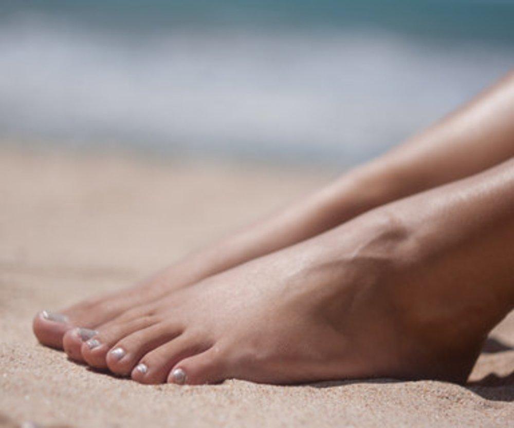 Schöne Füße für den Sommer