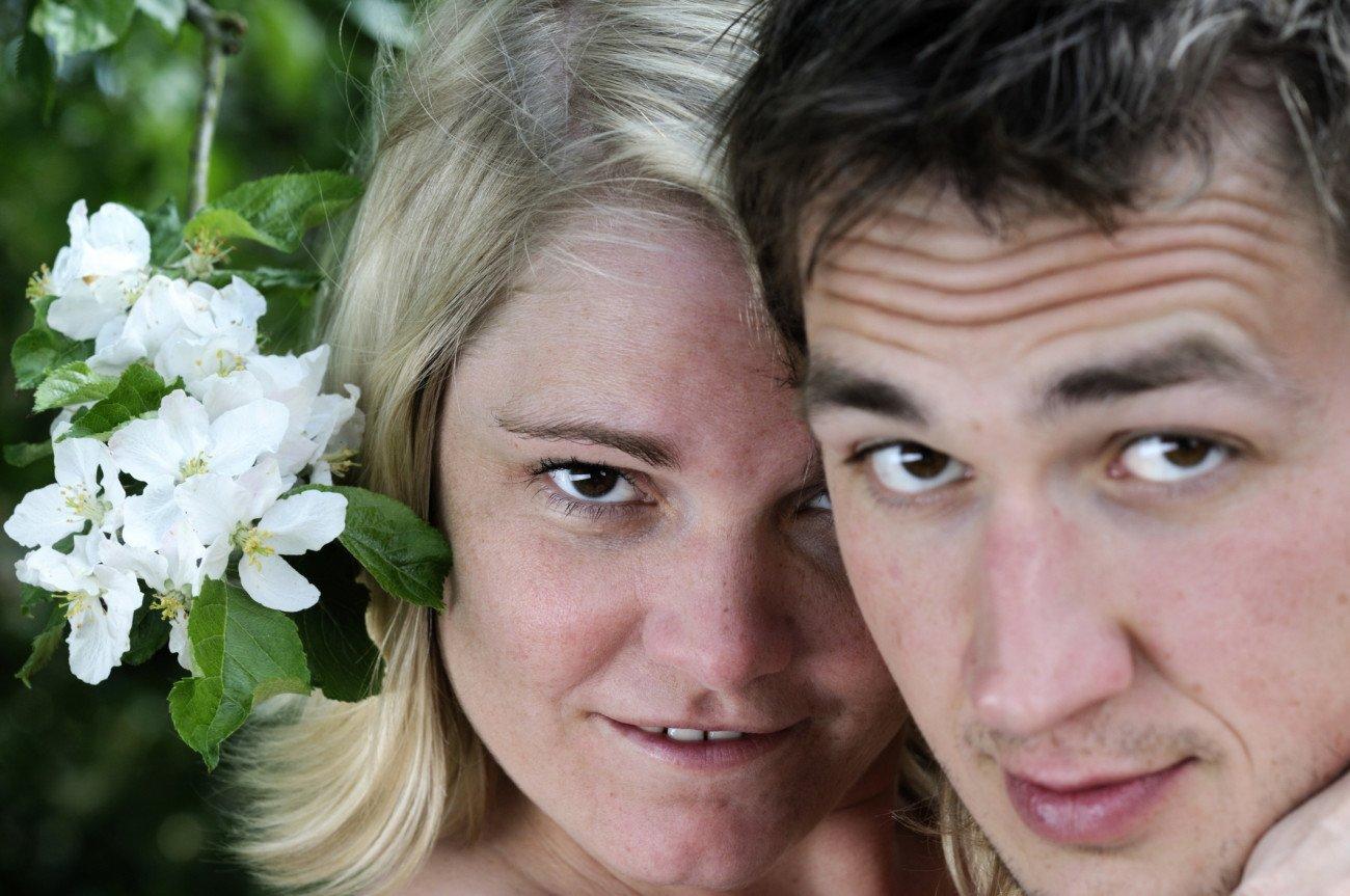 Blümchensex Paar