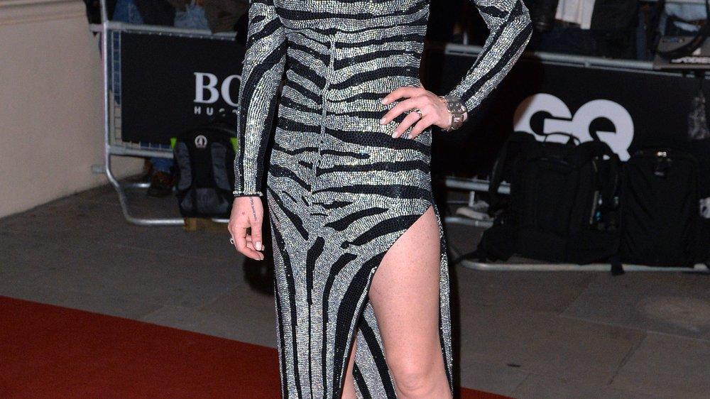 Lindsay Lohan riskiert eine dicke Lippe
