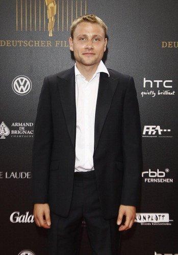"""Max Riemelt bei der """"Lola"""" 2012"""