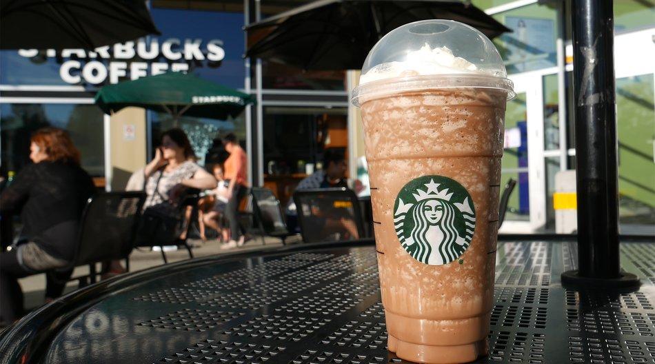 Strabucks Frappuccino als Badebombe?