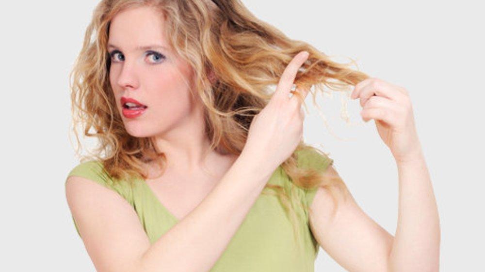 Trockene Haare