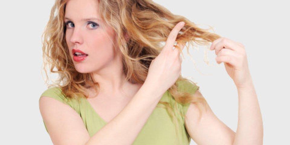 Trockene haare was tun