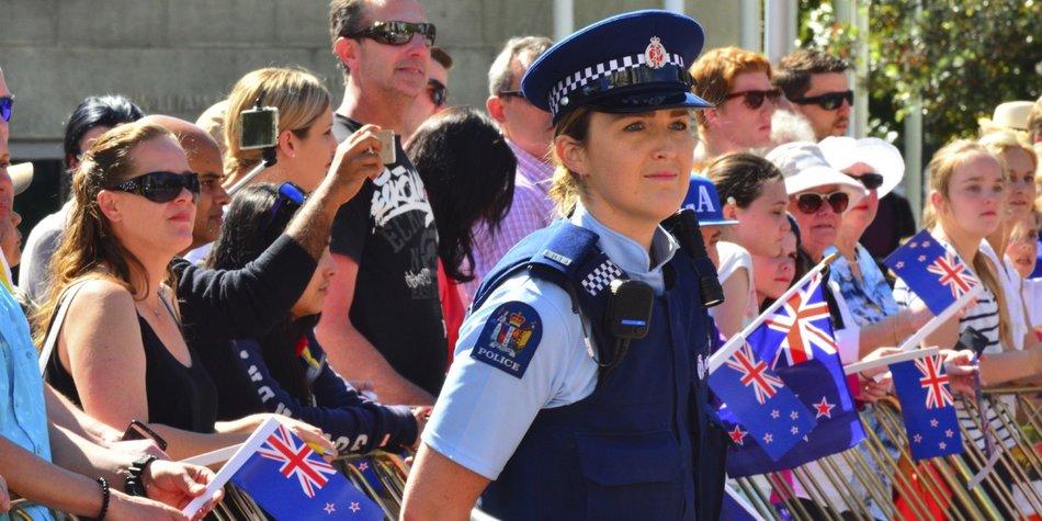 Neuseeland Polizei