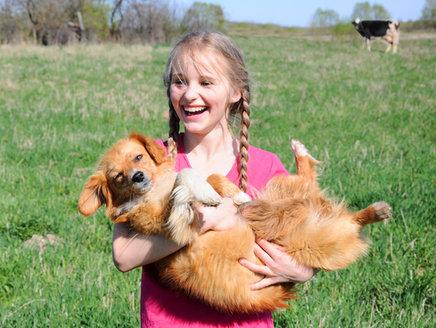 Hunde: Schutz vor Asthma