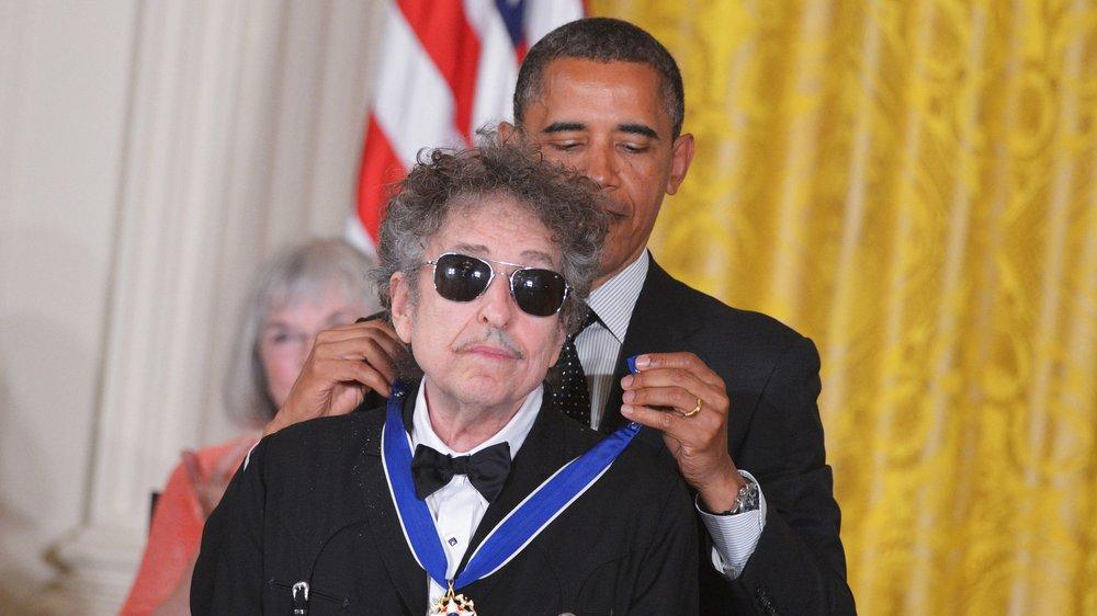 Barack Obama: Ehrung für Bob Dylan