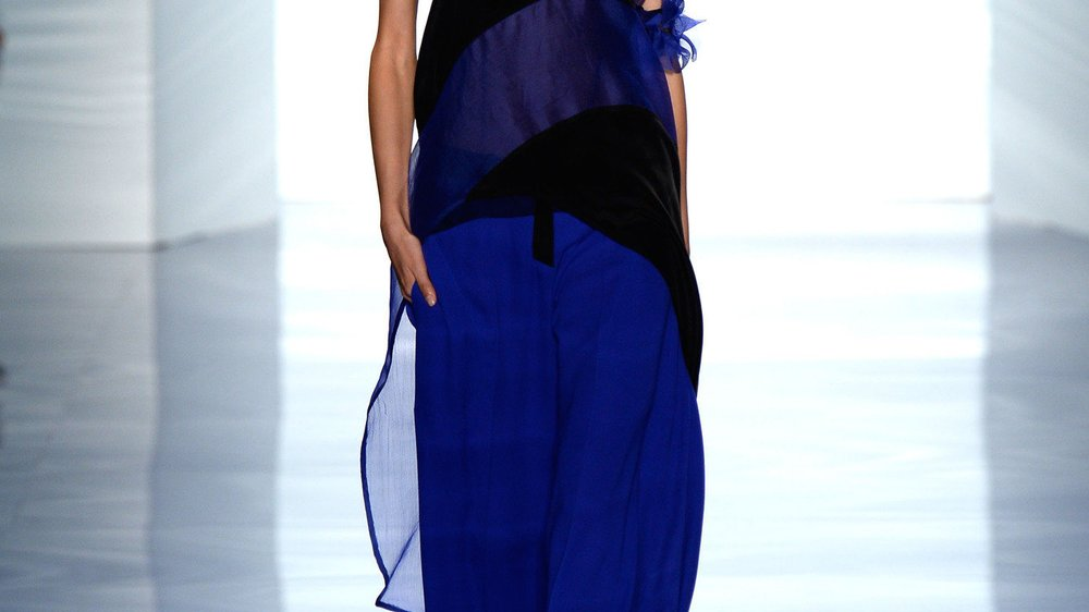 Vera Wang bei der New York Fashion Week