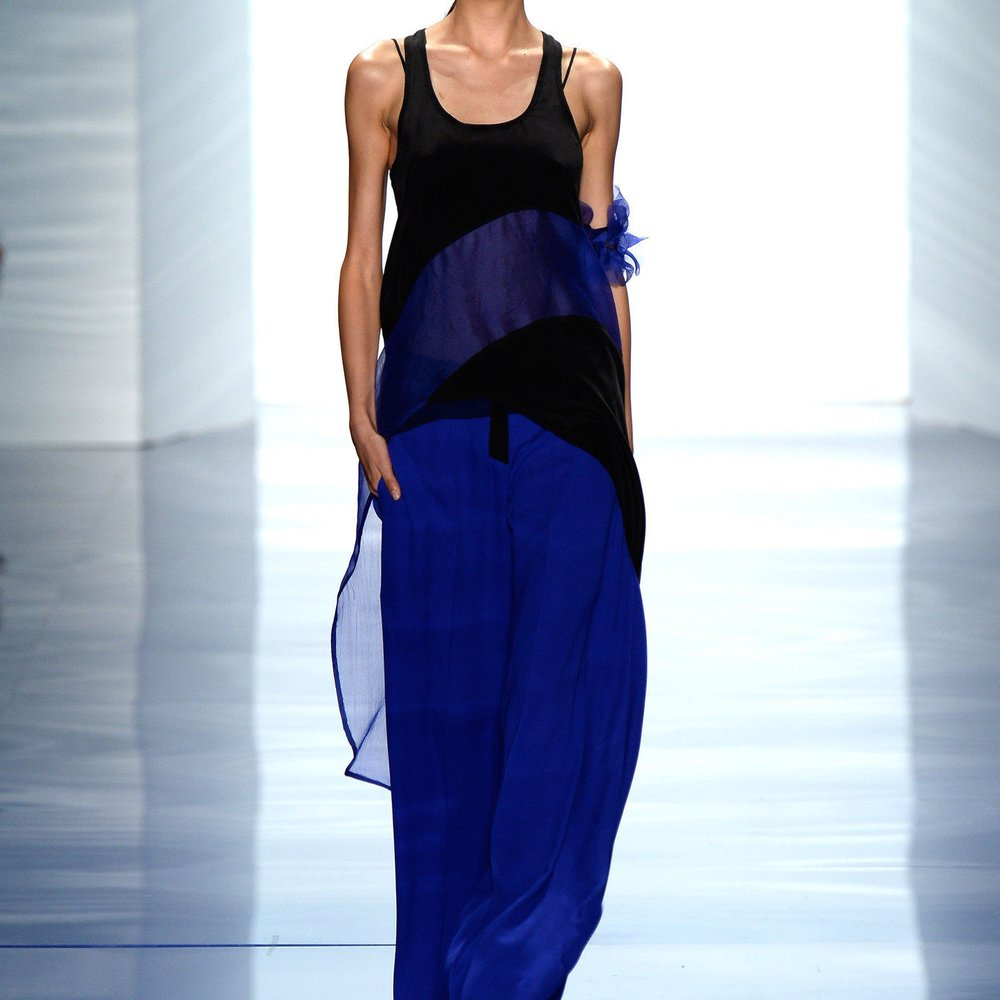 Vera Wang bei der New York Fashion Week
