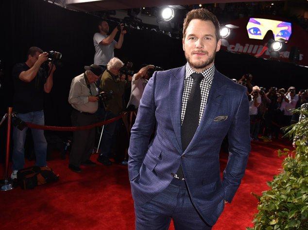 Chris Pratt auf dem roten Teppich