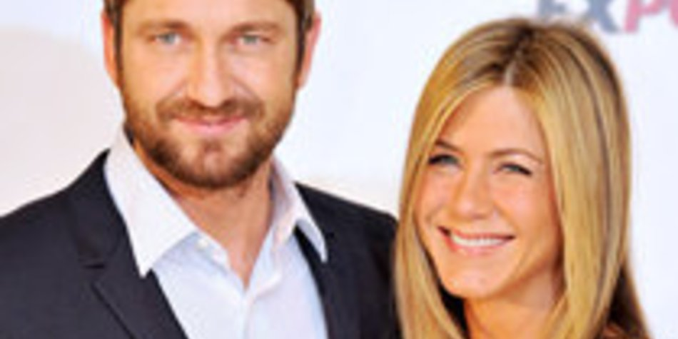 Jennifer Aniston und Gerard Butler: Sexy Outfits in Madrid