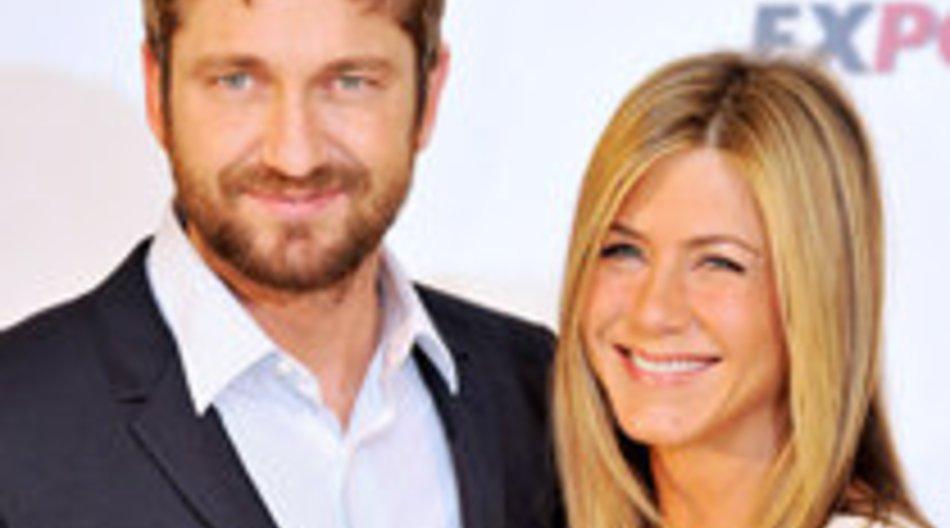 Jennifer Aniston und Gerard Butler: Sexy Outfits in Madrid