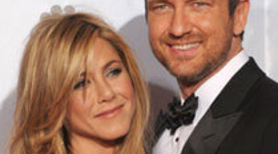 Jennifer Aniston knutscht mit Gerard Butler