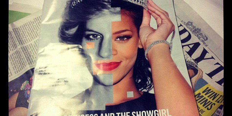Rihanna wird als neue Lady Di betitelt