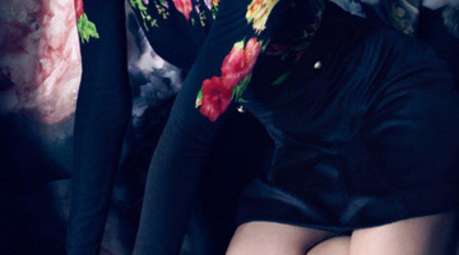 Das Victoria Secret Model Candice Swanepoel in ungewohntem Look.