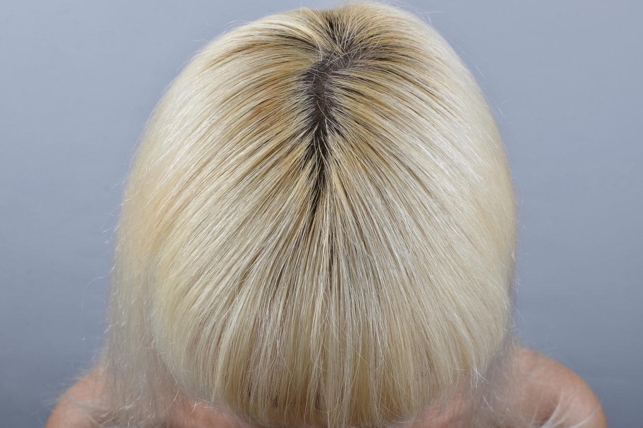 Haarfarben grau meliert