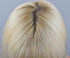 Graue Haare blond färben
