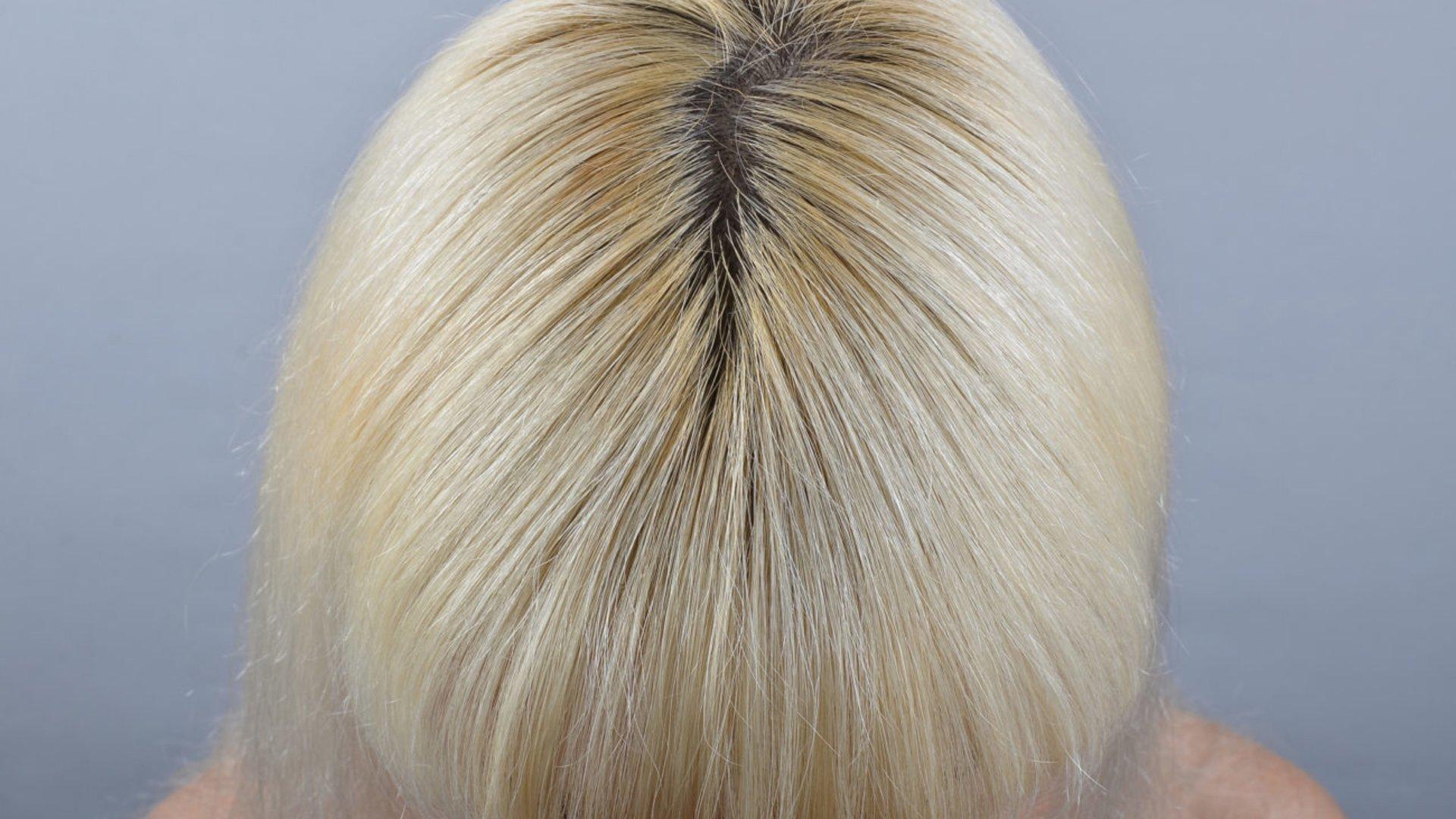 Graue haare strähnchen selber machen