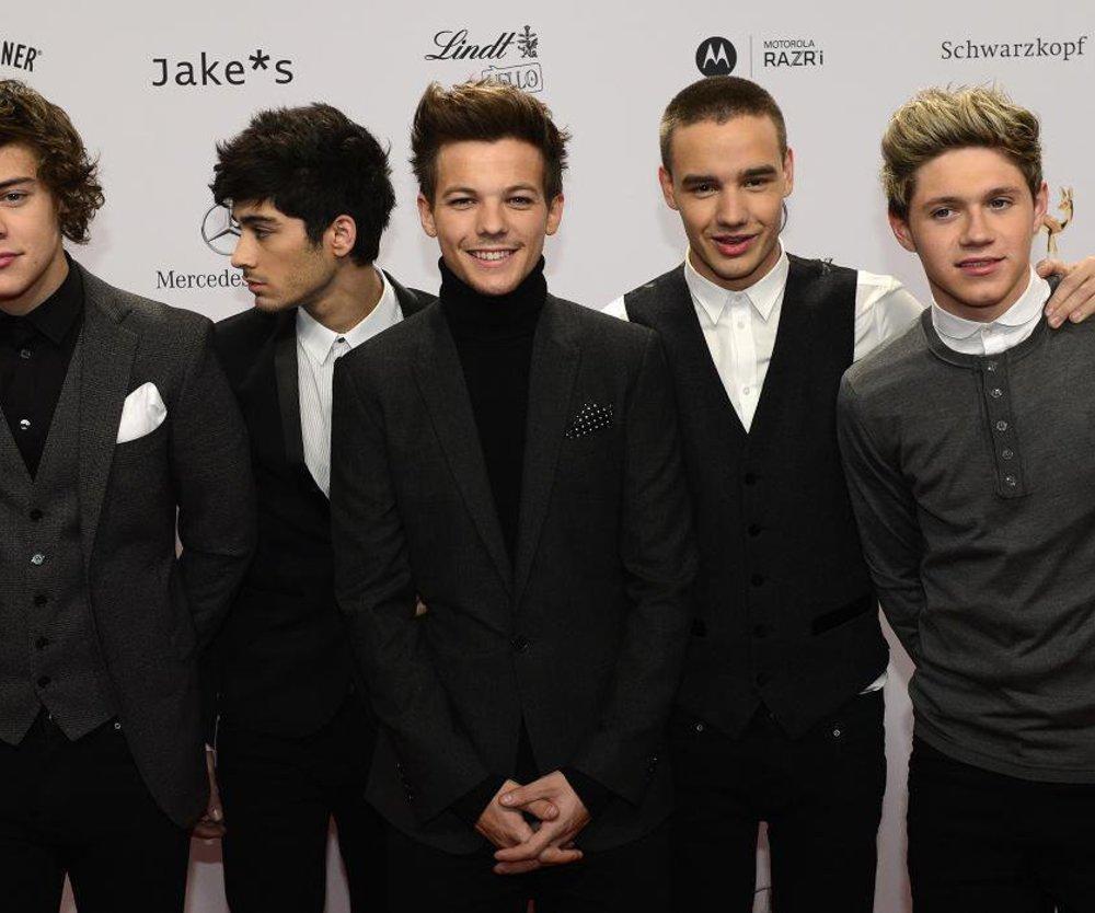One Direction pauken Vokabeln!