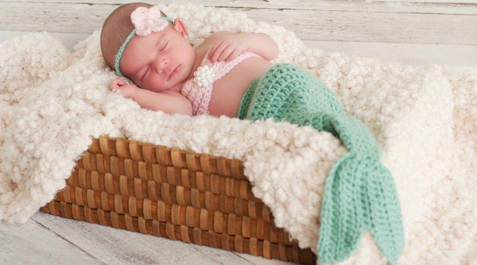 Meerjungfrau Decke