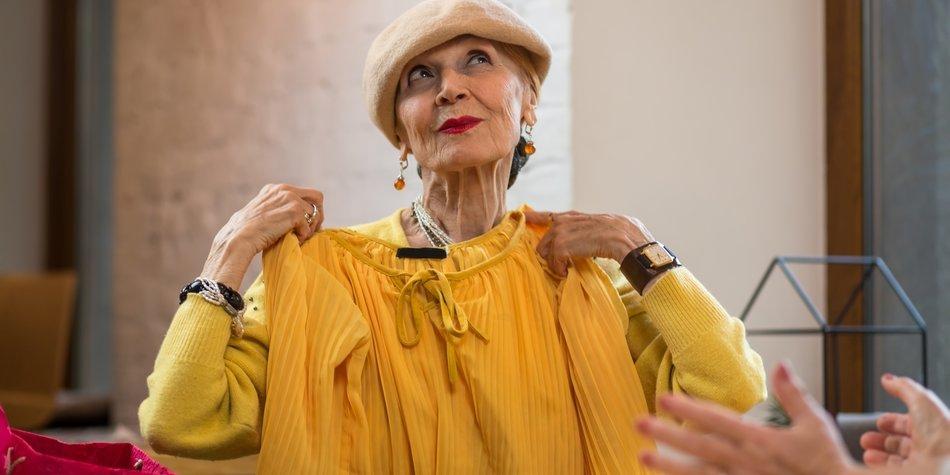 Mailänder Mode Omis sind die neuen Style-Vorbilder