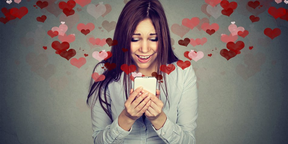 Flirten Smartphone