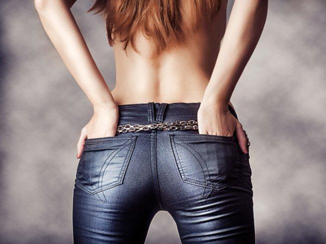 Knackpo in Jeans