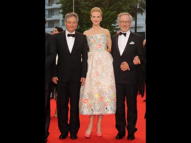 Jury-Mitglied Nicole Kidman und Jury-Präsident Steven Spielberg