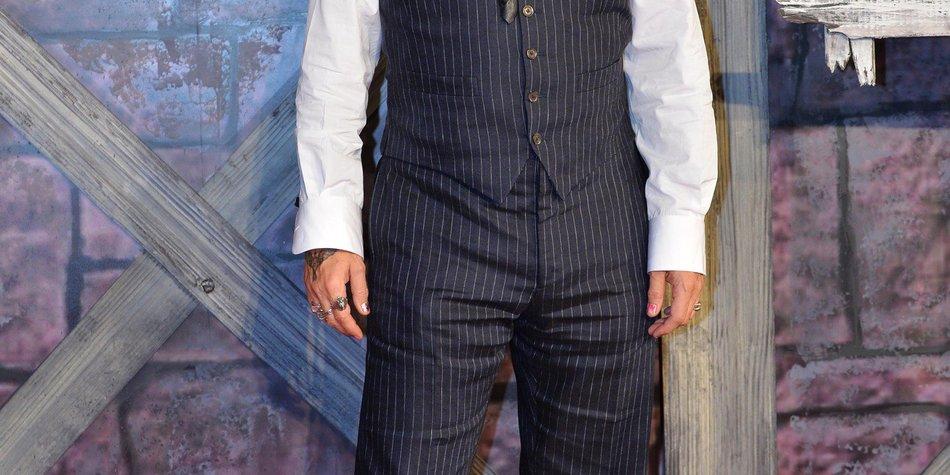 Johnny Depp fürchtet sich vor seinen Filmcharakteren