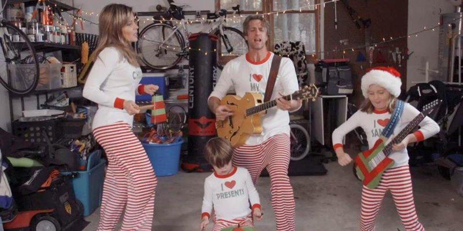 Neues Weihnachtsvideo der Familie Holderness