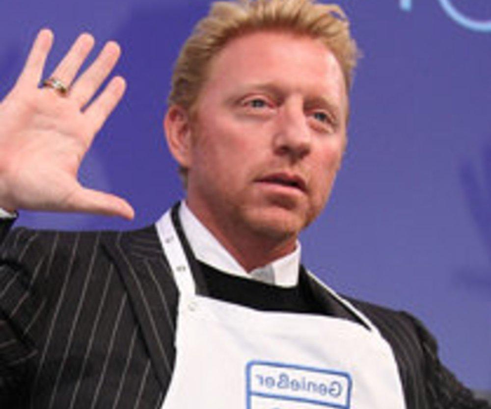 """Boris Becker: """"Genießer des Jahres"""""""