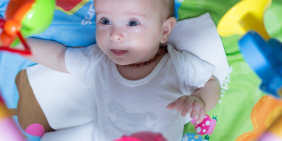 Bernsteinkette Fürs Baby Hilfe Beim Zahnen Desiredde